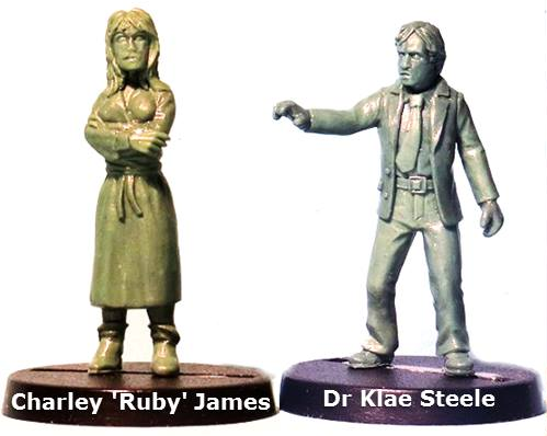 Dr. Klae Steel & Charley 'Ruby' James