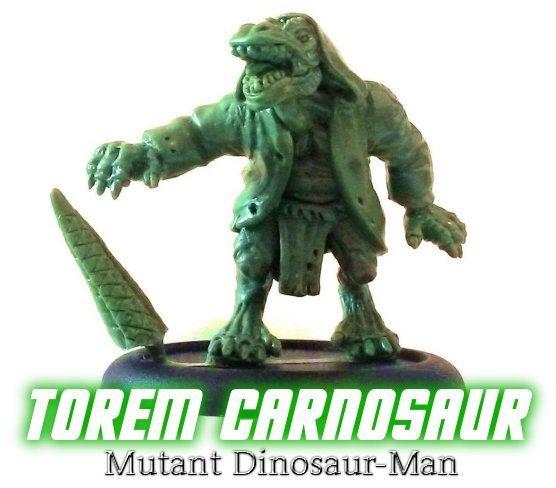 Torem Carnosaur (Mutant Dinosaur-Man)