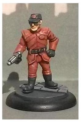 Uni-Tech Security Officer (Cap and Pistol)