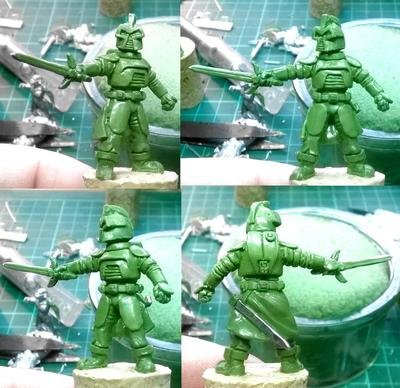 Major Caprican, Supreme Commander of the Legion