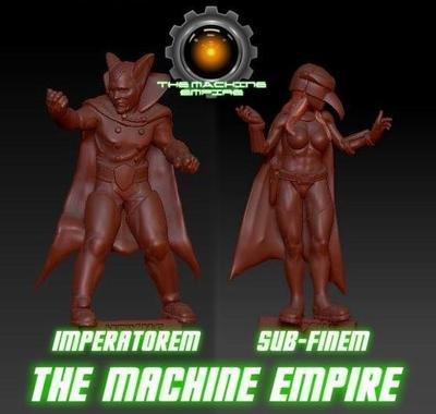 Sub-Finem & Imperatorem - Machine Empire Commanders