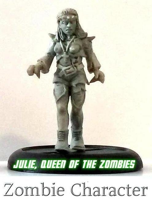 Julie, Queen of the Zombies