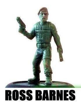 Mercenary Highwaymen Character - Ross Barnes