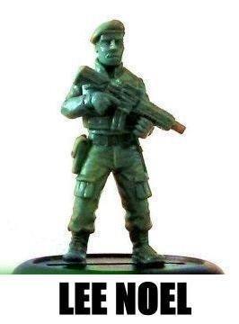 Mercenary Highwaymen Character - Lee Noel