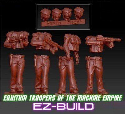 Equitum Troopers of the Machine Empire