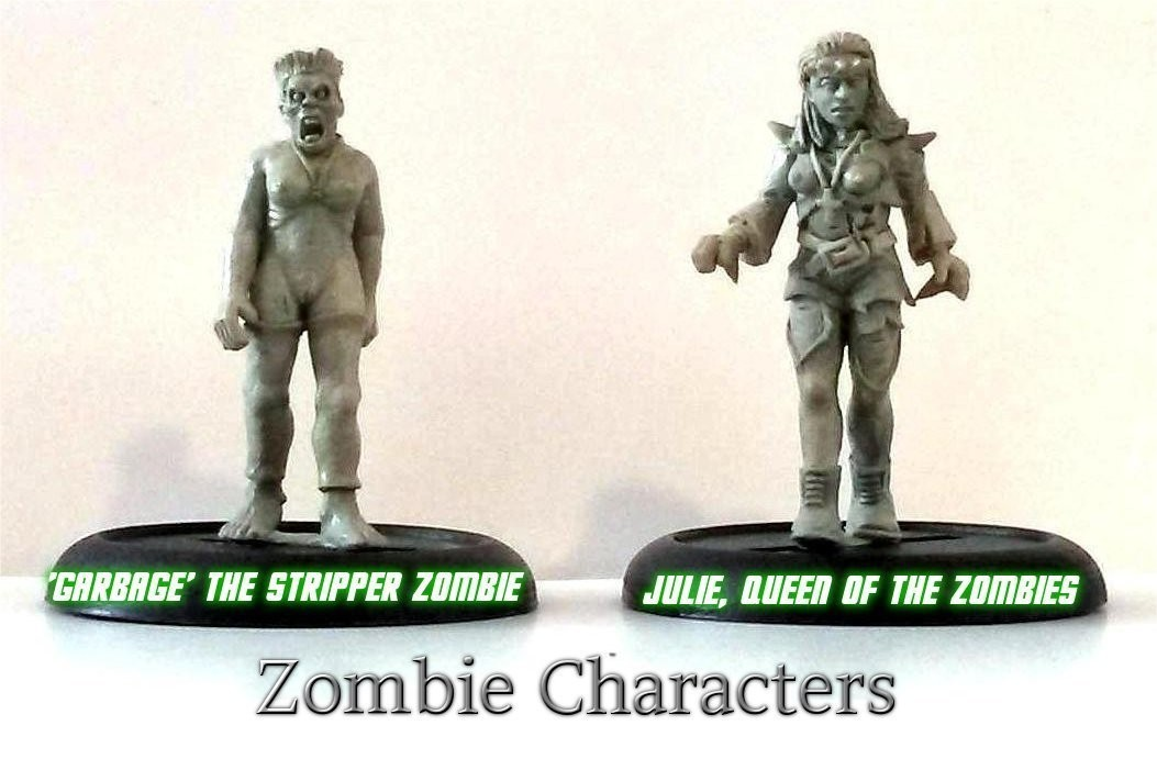 Zombie Character Deal (NX44 & NX45)