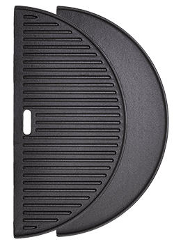 Half Moon Cast Iron Griddle for XL Kamado