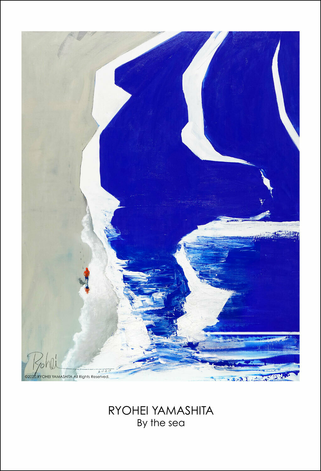 """Giclee Poster """"By the sea"""""""
