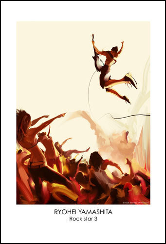 """Giclee Poster """"Rock star 3"""""""