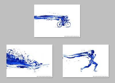 "Original piece ""Triathlete set""(3 pieces)"