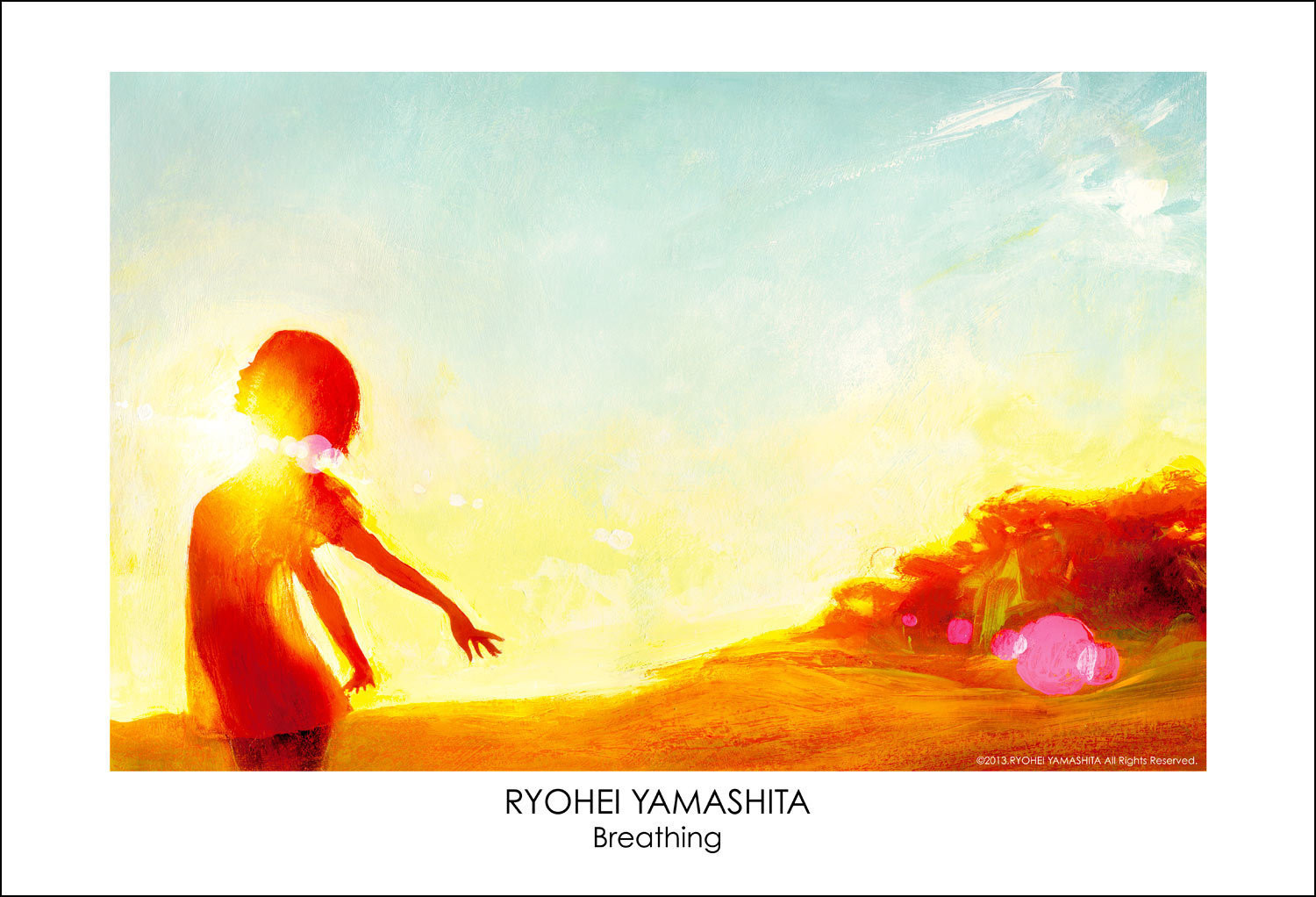 """Giclee Poster """"Breathing"""""""