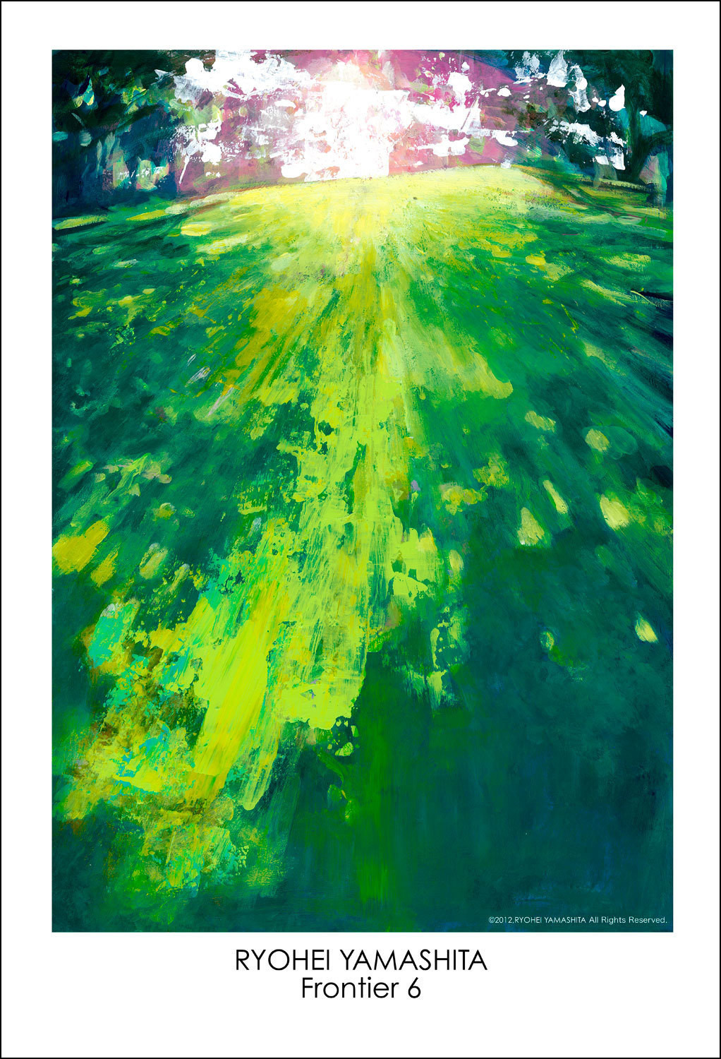 """Giclee Poster """"Frontier 6"""""""