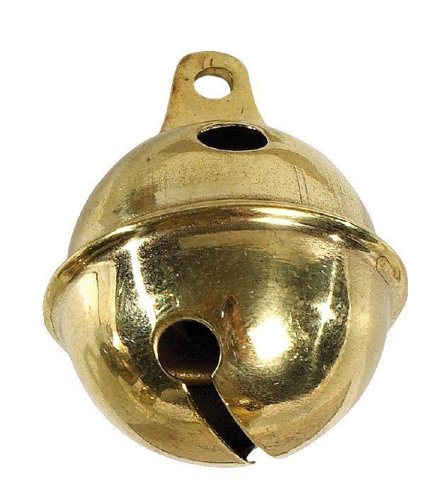 dog bell in brass