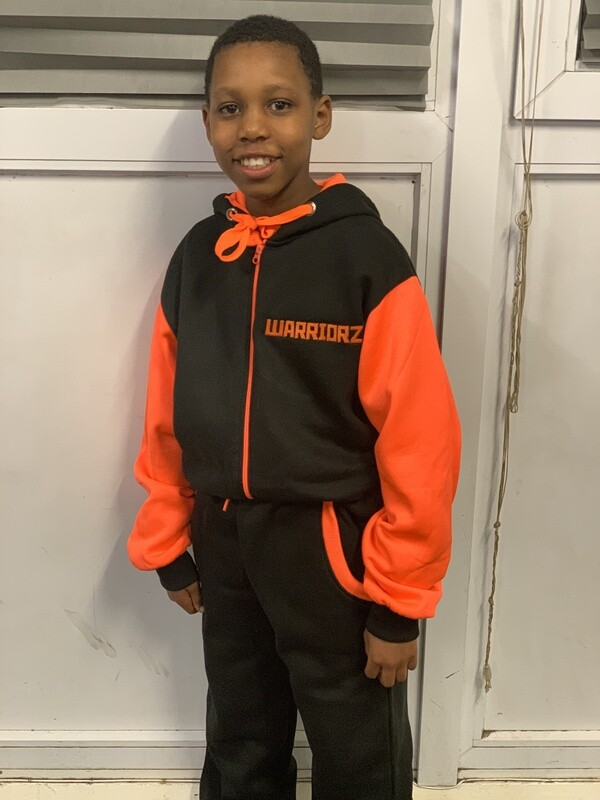 Warriorz New Limited edition tracksuits