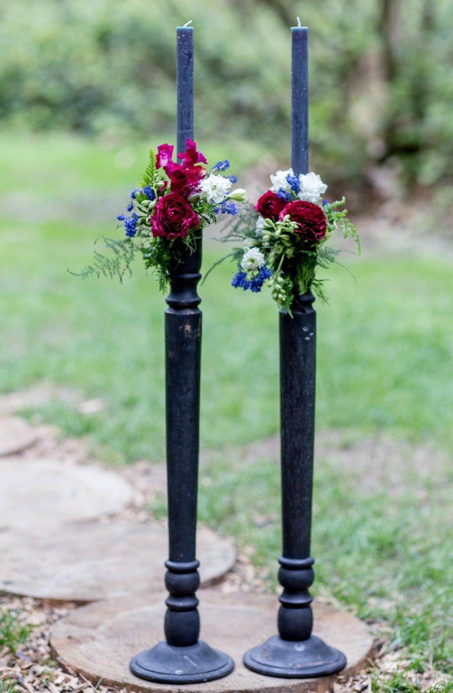 Tall candlesticks