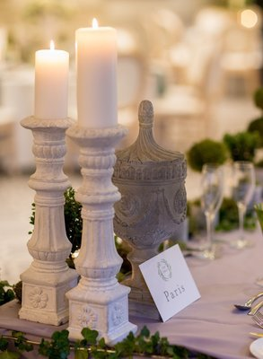 Stone _ candle holders