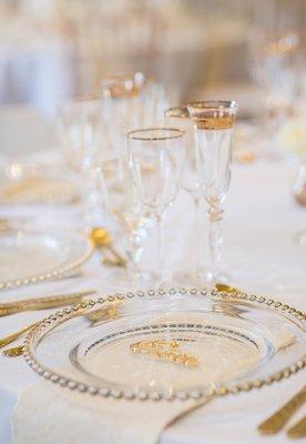 Tableware - table of 8