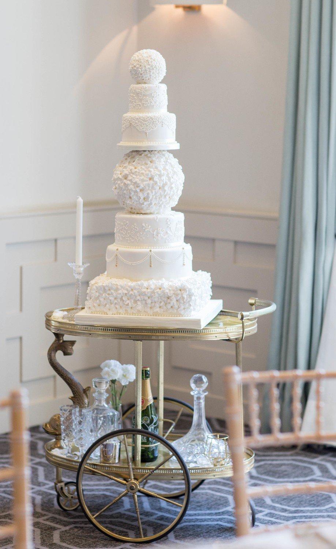 Cake display - trolley