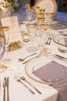 Tableware - LUXE gold range