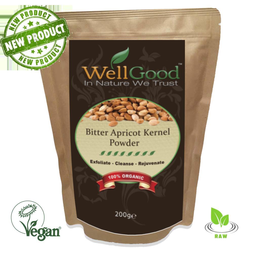 Organic Raw Bitter Apricot Kernel (Ground Powder) 200g