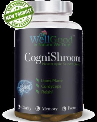 Ancient Mushroom Complex 3 Lions Mane - Cordyceps, Reishi - High Strength -    6 weeks Supply   90 vegan capsules