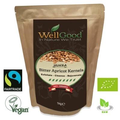 Hunza Bitter Apricot Kernels Seeds Organic