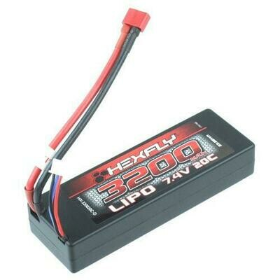 Hexfly 7.4v 3200mAh Lipo Battery