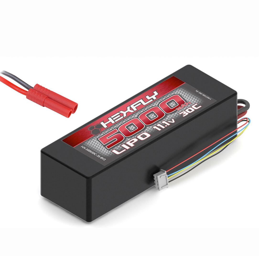 Hexfly 11.1v Lipo Battery 5000