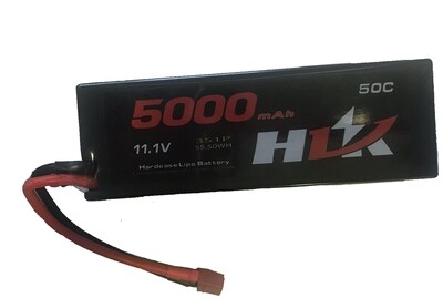 HIJ 11.1v, 50C Lipo Battery 5000