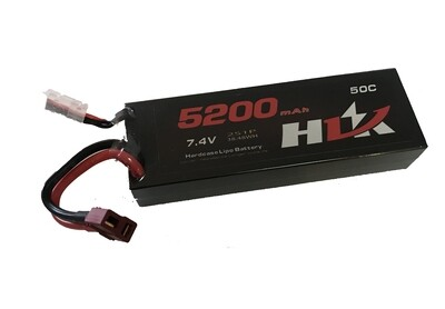 HIJ 7.4v, 50C Lipo Battery 5200