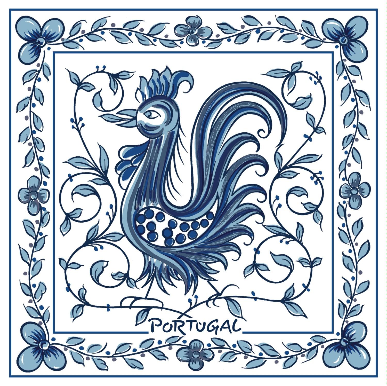 Galo Águeda Azul 15x15