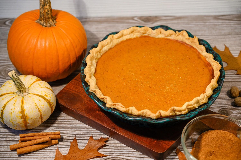 Whole Pumpkin Pie (6-8 Slices)