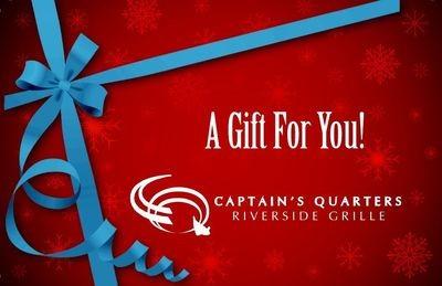 Captain's Quarters Gift Card
