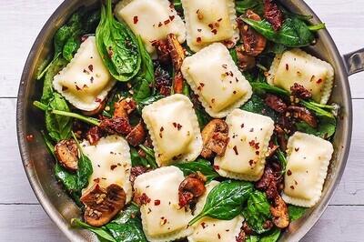 Ravioli Mozzarella & Mushrooms -500g