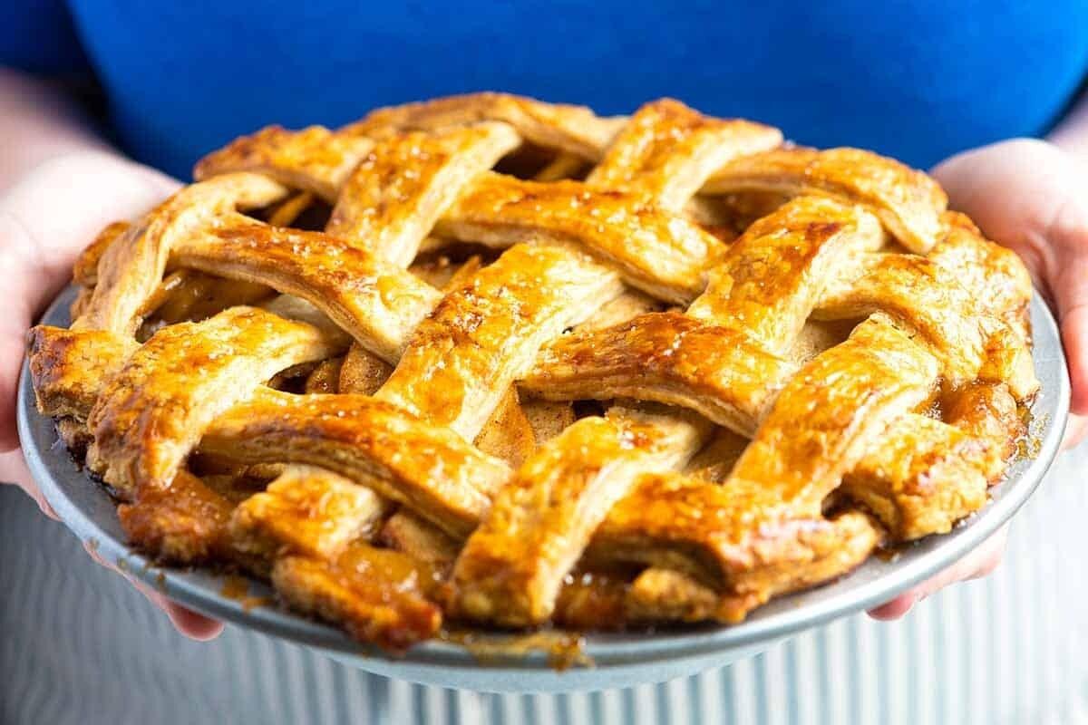"Home Made Apple Pie 8"" - 1.3kg ea."