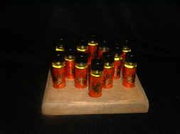 Star of David Display with twelve 1/4 ounce vials