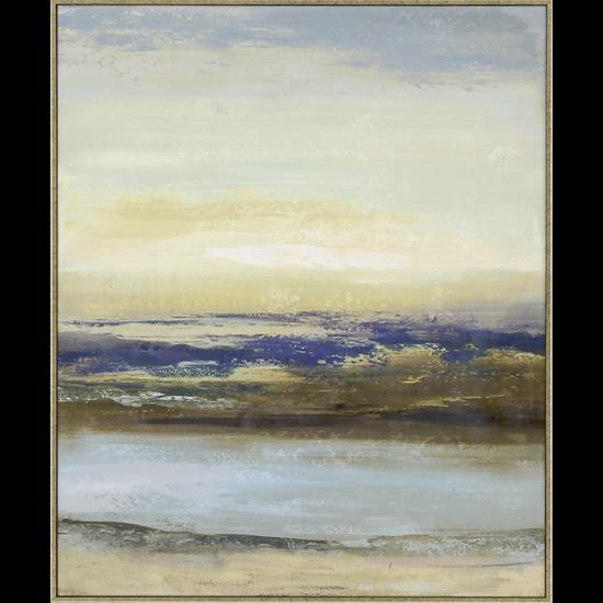 Blue Notes III Giclée on Canvas