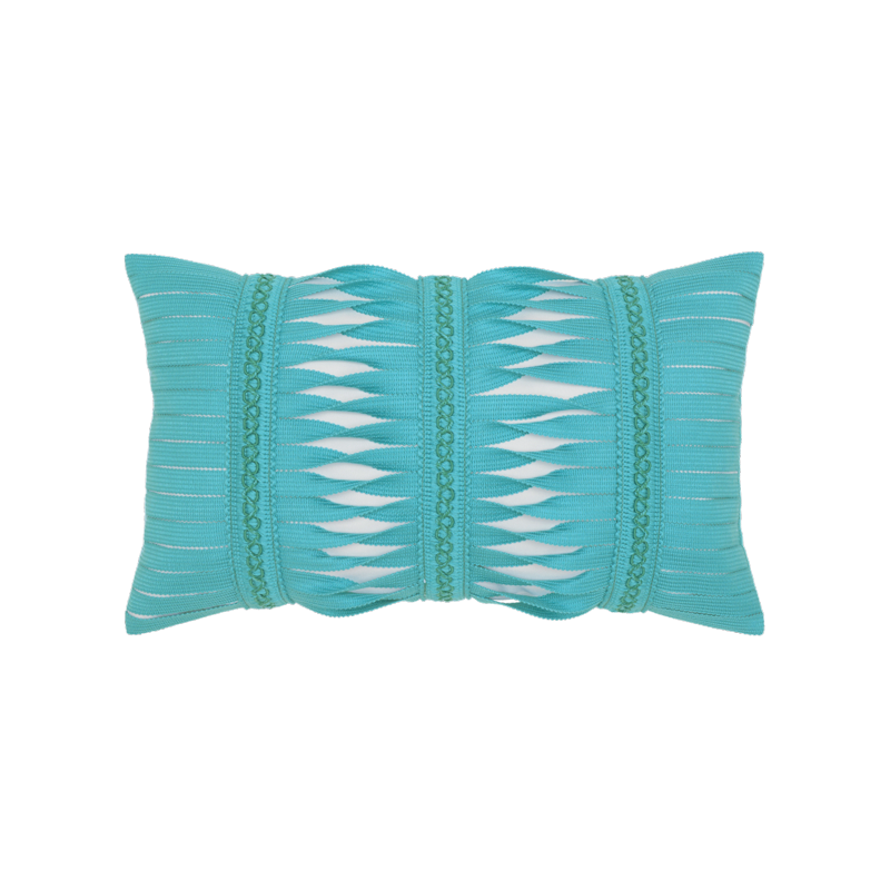 """Elaine Smith Gladiator Aruba 12"""" x 20"""" Lumbar Indoor/Outdoor Pillow"""