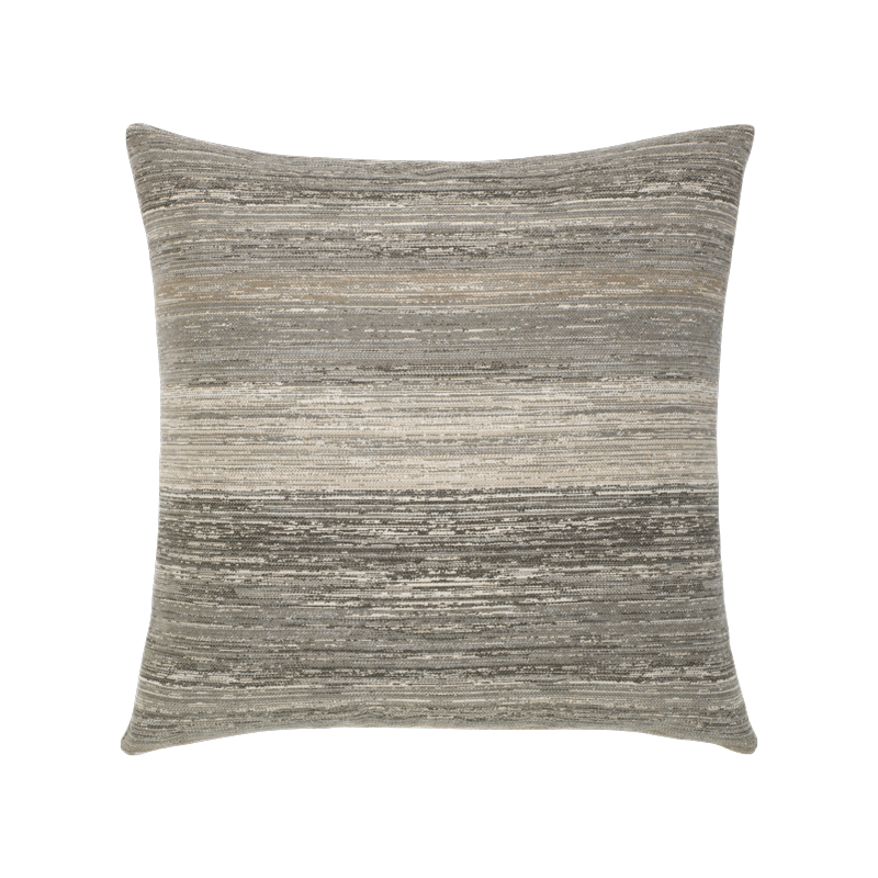 "Elaine Smith Indoor/Outdoor | Textured Grigio 20"" x 20"" Pillow"