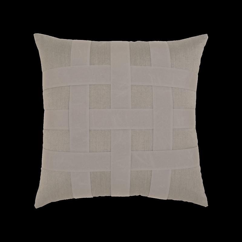 Elaine Smith Indoor/Outdoor Basketweave 20 x 20  Pillow | 7 Colors