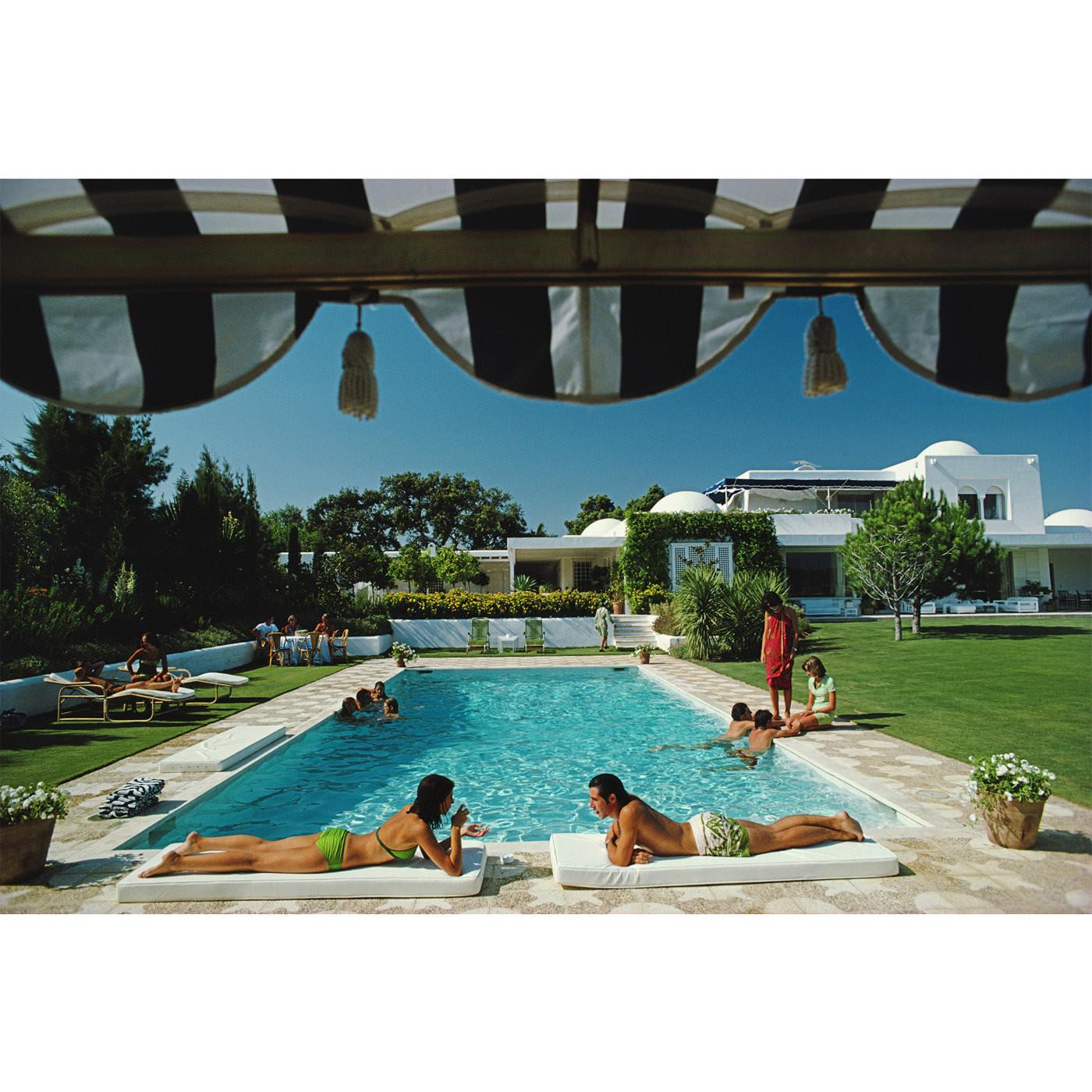 Slim Aarons Poolside Sotogrande Wall Art | Jonathan Adler
