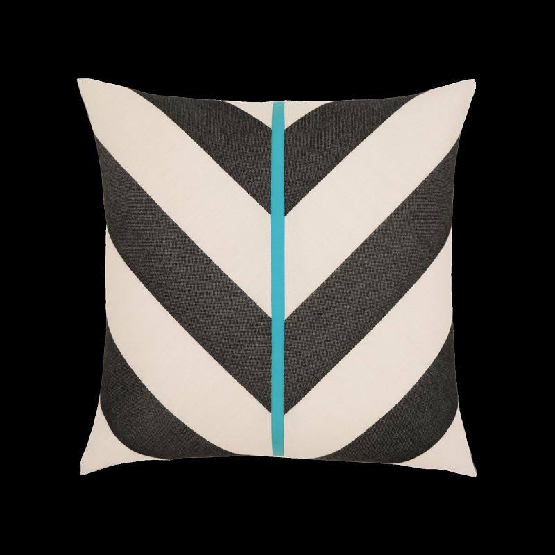 """Elaine Smith Harmony Chevron 20"""" x 20"""" Indoor/Outdoor Pillow"""