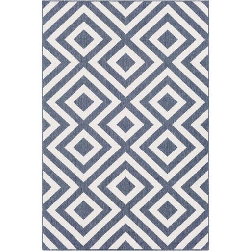 Alfresco Indoor/Outdoor Rug | Charcoal & White | 8 Sizes