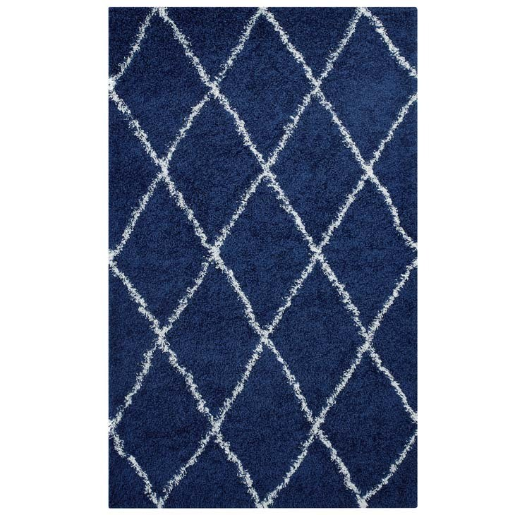 Diamond Trellis 8 x 10 Rug | 6 Colors