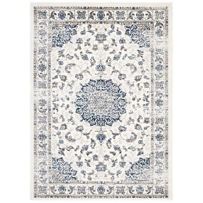 Lila 5 x 8 Distressed Rug |  2 Colors
