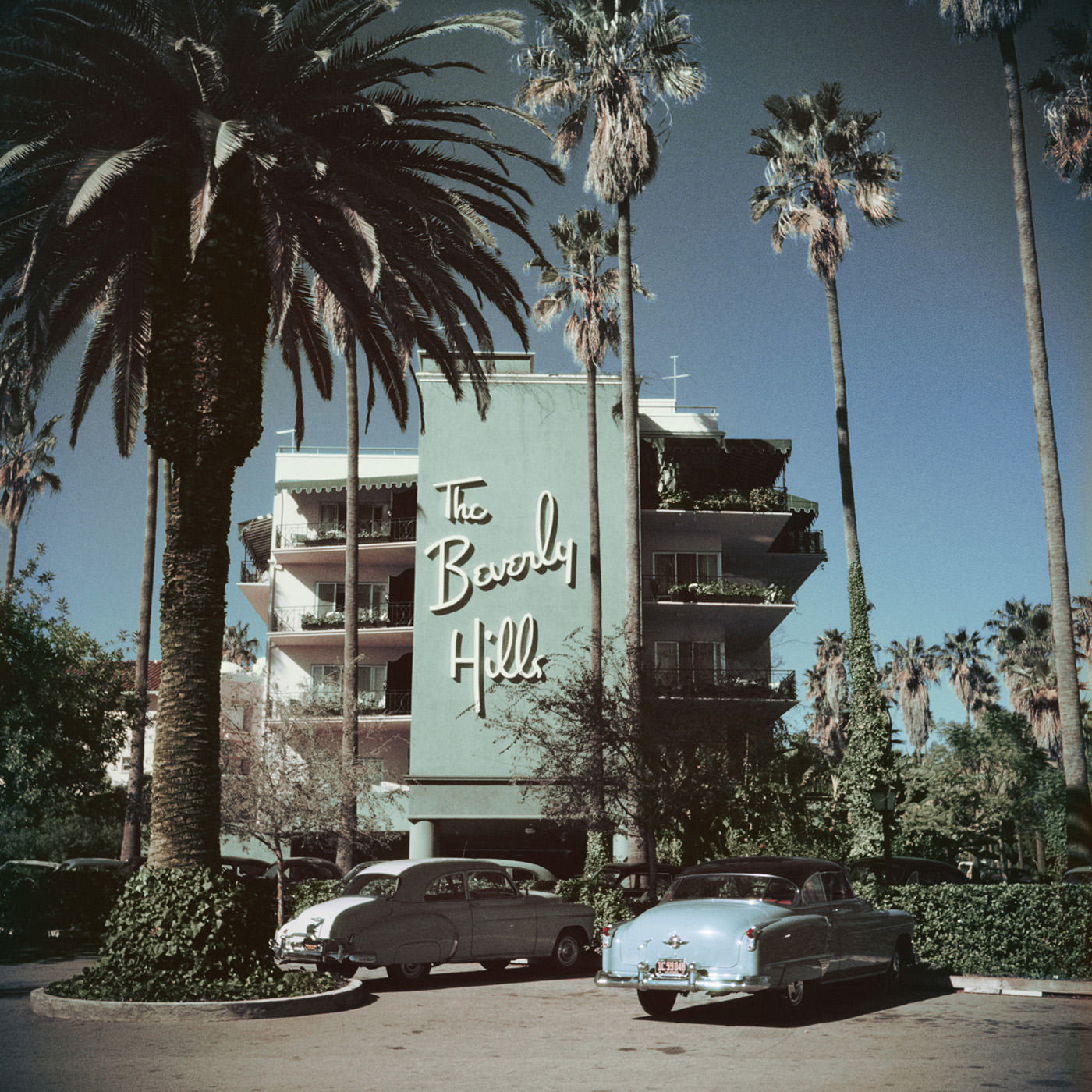 "Slim Aarons ""Beverly Hills Hotel"" Wall Art | Jonathan Adler| 2 Sizes"