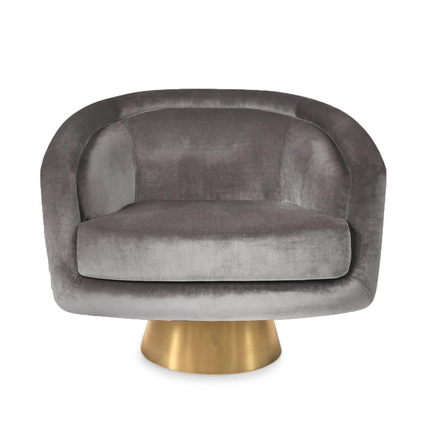 Bacharach Swivel Chair | Rialto Ash