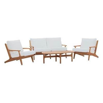 Gold Coast 4 Piece Teak Wood Patio Set