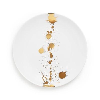 Jonathan Adler 1948 White and Gold Salad Plate / Set of 8
