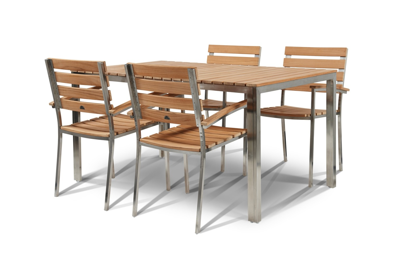 Alfresco Teak Wood Dining Set